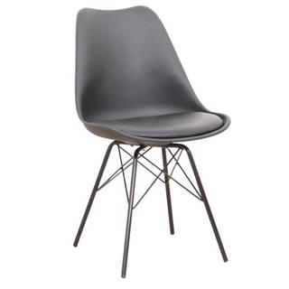 Tamora jedálenská stolička čierna