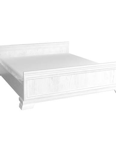 Kora KLS2 180 rustikálna manželská posteľ s roštom sosna Andersen
