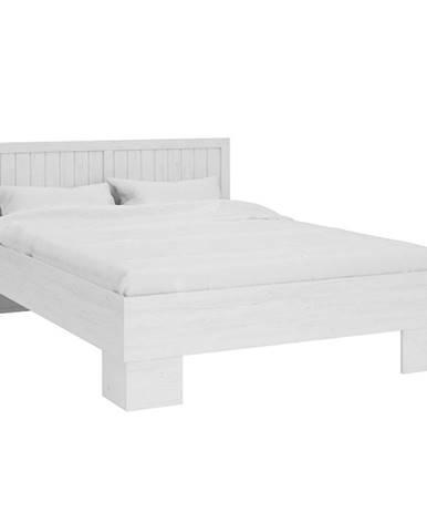 Provance L1 160 manželská posteľ s roštom sosna Andersen