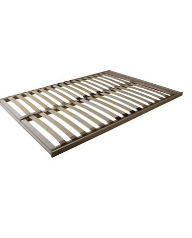 Basic Flex Front lamelový rošt 160x200 cm ohýbané brezové drevo