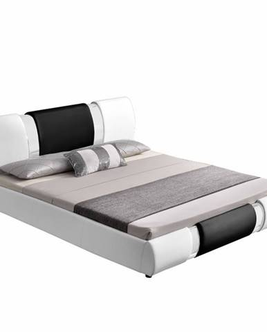 Luxor 160 manželská posteľ 160x200 cm biela