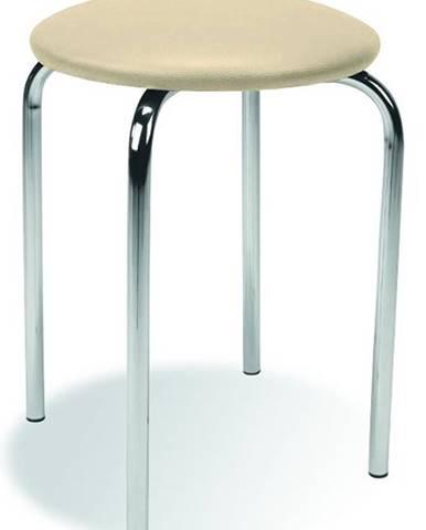 Chico stolička bez operadla krémová (V18)