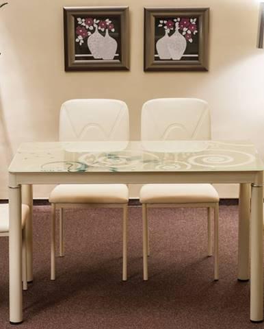 Damar jedálenský stôl krémová