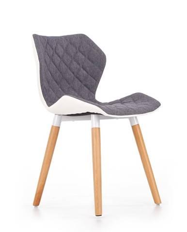 K277 jedálenská stolička sivá
