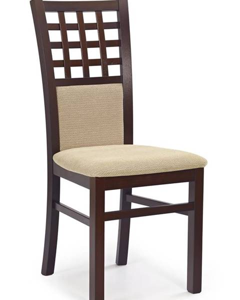 Halmar Gerard 3 jedálenská stolička tmavý orech