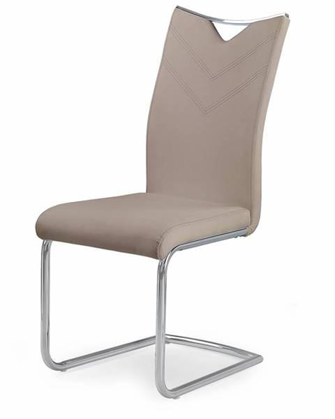 Halmar K224 jedálenská stolička cappuccino