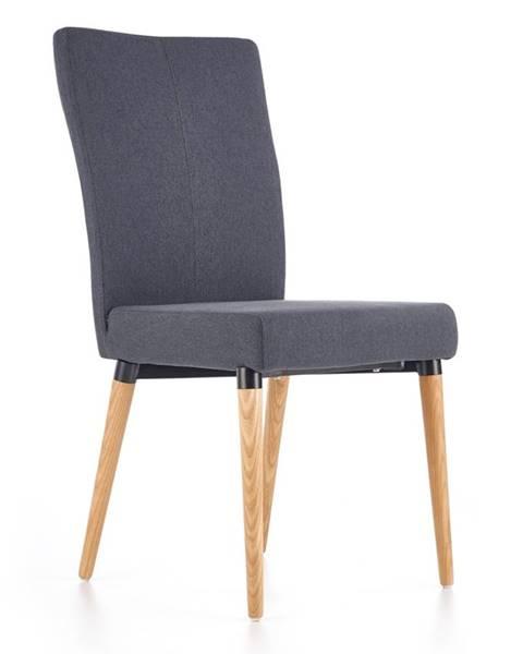 Halmar K273 jedálenská stolička tmavosivá