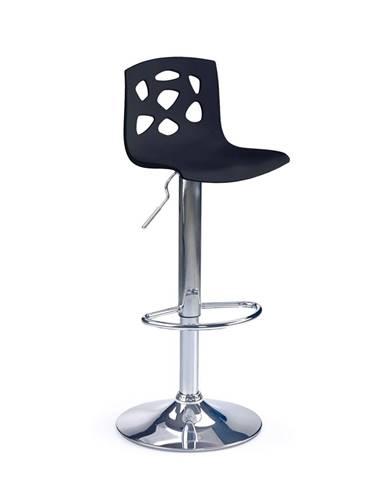 H-48 barová stolička čierna