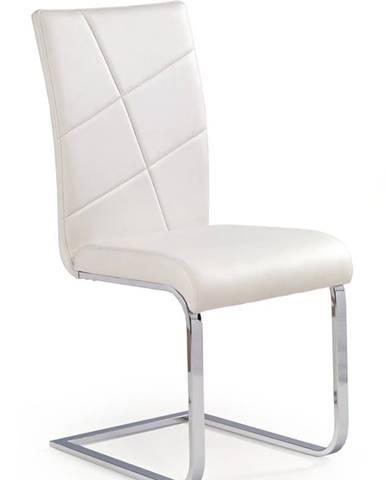 K108 jedálenská stolička biela