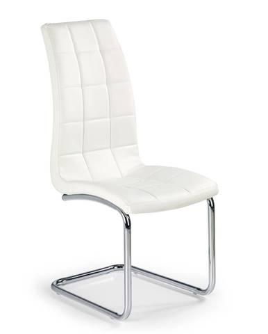 K147 jedálenská stolička biela