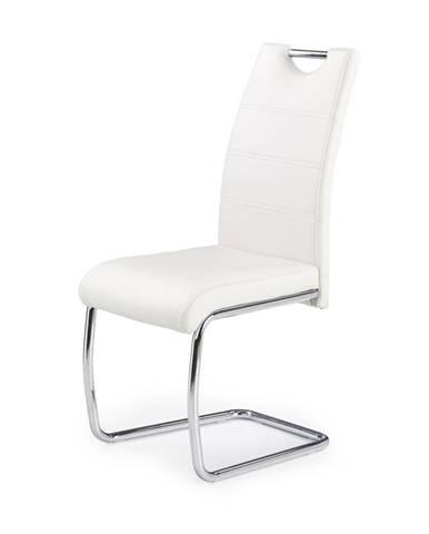 K211 jedálenská stolička biela