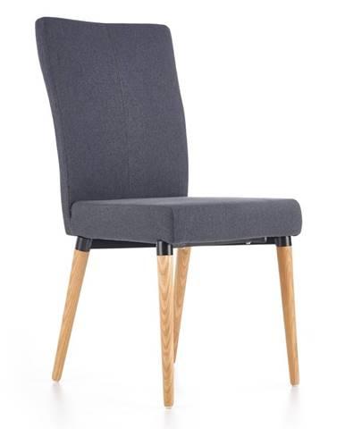 K273 jedálenská stolička tmavosivá