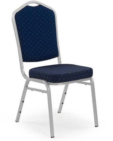 K66S jedálenská stolička modrá