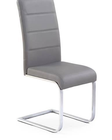 K85 jedálenská stolička sivá