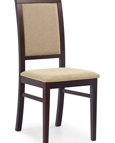 Sylwek 1 jedálenská stolička tmavý orech