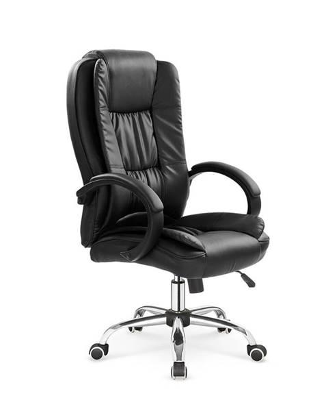 Halmar Relax kancelárske kreslo s podrúčkami čierna