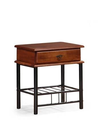 Fiona nočný stolík čerešňa antická