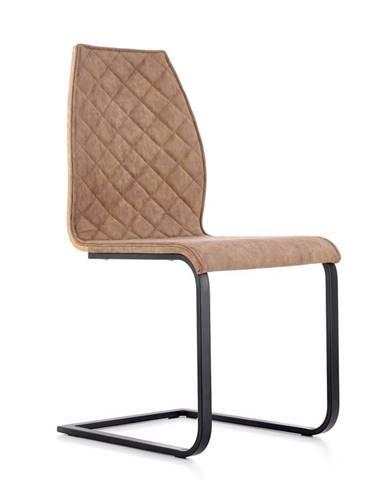K265 jedálenská stolička hnedá