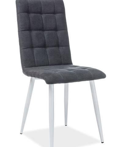 Otto jedálenská stolička čierna