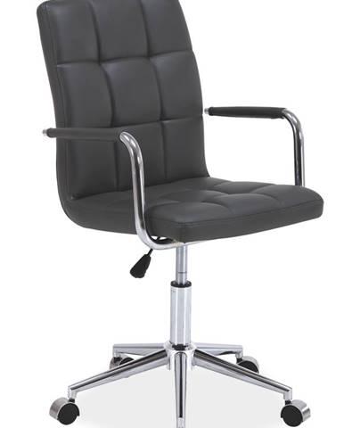 Q-022 kancelárska stolička sivá