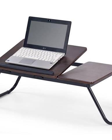 B-19 stolík na notebook tmavý vlašský orech