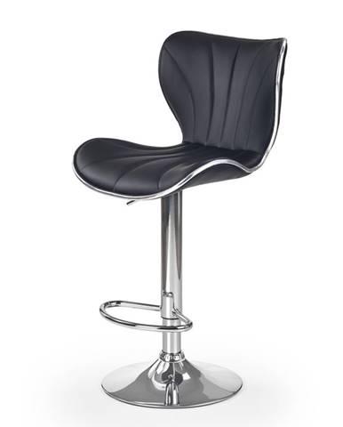 H-69 barová stolička čierna