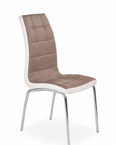 K186 jedálenská stolička cappuccino