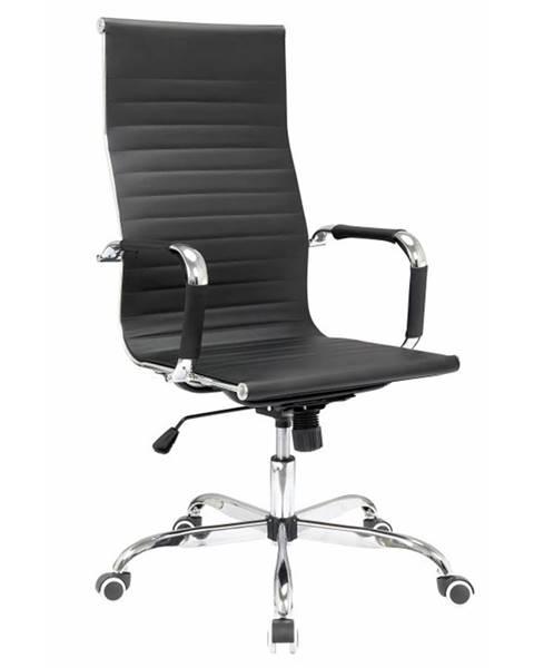 Tempo Kondela Azure 2 New kancelárske kreslo s podrúčkami čierna
