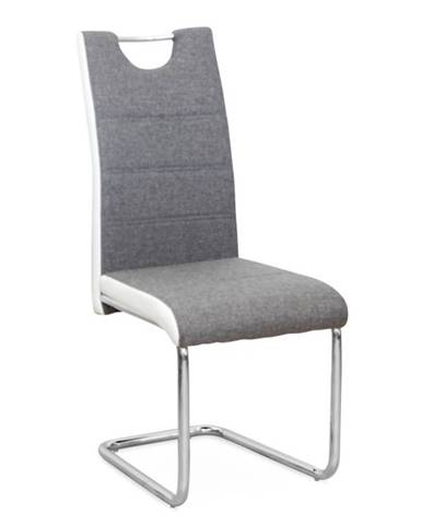 Izma jedálenská stolička sivá