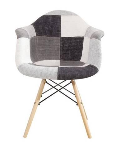 Kubis New jedálenská stolička vzor patchwork