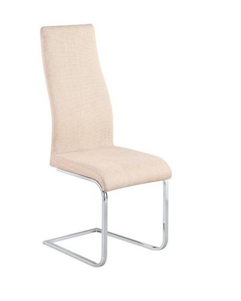 Tempo Kondela Amina jedálenská stolička béžová