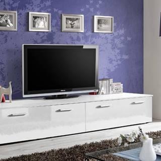 Duo WW tv stolík biela