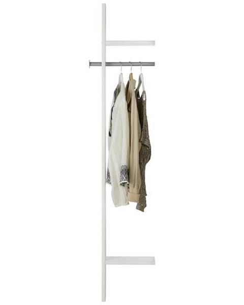 Möbelix Vešiakový Panel Young V Bielom Dekore