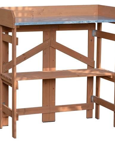 Záhradný pracovný stôl jelša ELSIRO