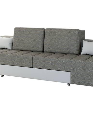Alcoba rozkladacia pohovka s úložným priestorom sivá