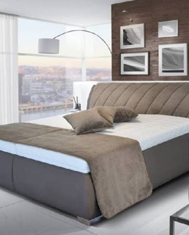 Čalúnená posteľ Grosseto - 200x180, rošt, bez matracov