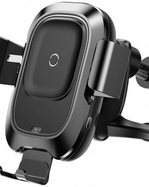 Baseus Bezdrôtová nabíjačka do auta s QI, 10W, do mriežky, otočná