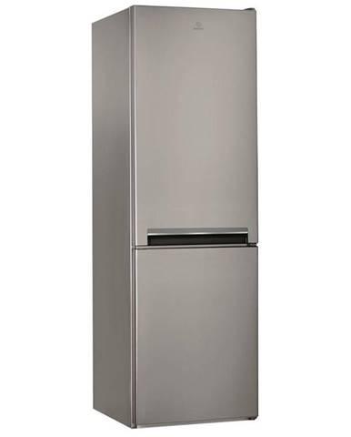 Kombinácia chladničky s mrazničkou Indesit LI8 S2E X nerez