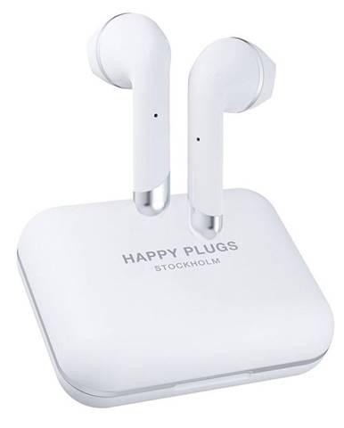 Slúchadlá Happy Plugs Air 1 Plus biela