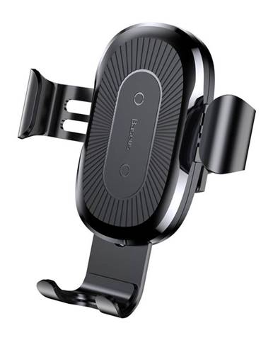 Držiak na mobil Baseus Wireless Charger Gravity Phone holder čierny