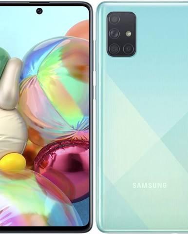 Mobilný telefón Samsung Galaxy A71 modrý