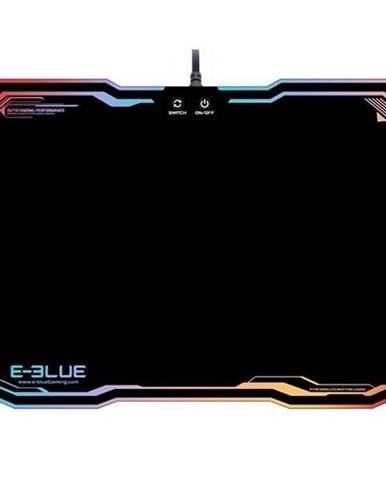 Podložka pod myš  E-Blue RGB, 36,5 x 26,5 cm čierna