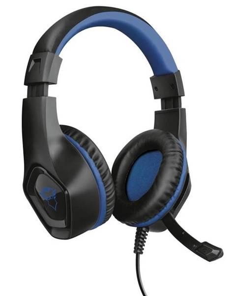 Trust Headset  Trust GXT 404B Rana pro PS4 čierny/modrý