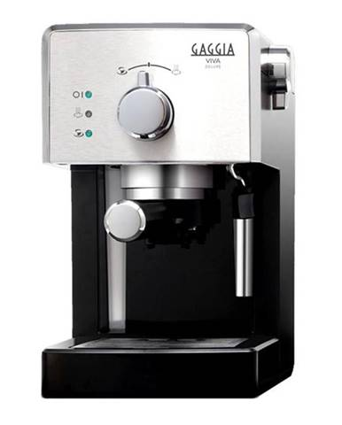 Espresso Gaggia Viva Deluxe čierne/chróm