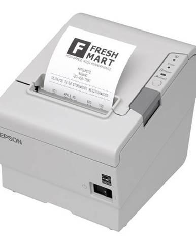 Tlačiareň pokladničná Epson TM-T88V biela termální, LPT, USB, 300