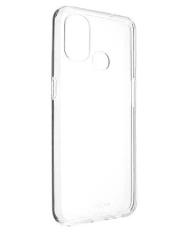 Kryt na mobil Fixed na OnePlus Nord N100 priehľadný