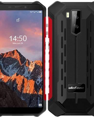 Mobilný telefón UleFone Armor X5 PRO Dual SIM červený