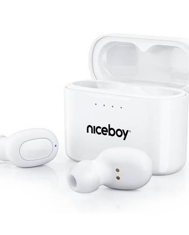 Slúchadlá Niceboy Hive Podsie 2021 biela
