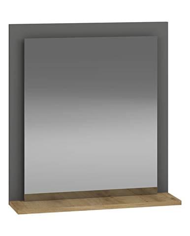 Baleta Z60 zrkadlo na stenu antracit
