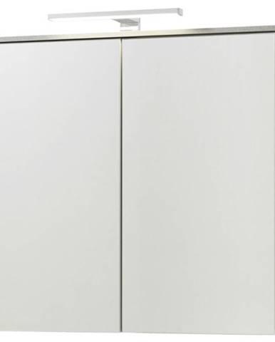 Zrkadlová skrinka GAVERA biela
